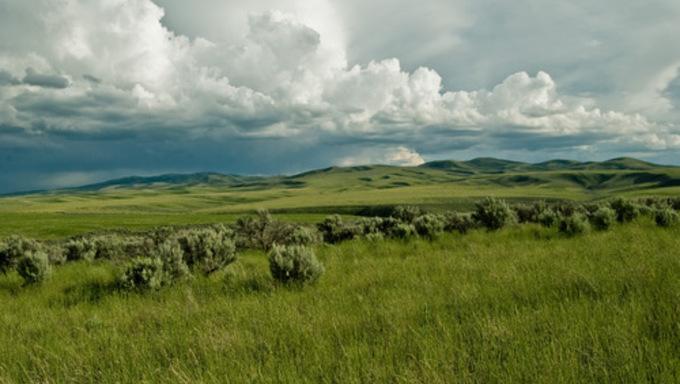 The Landscape Surrounding Pocatello.