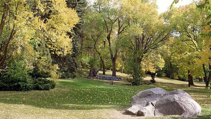Ross Park in Pocatello.