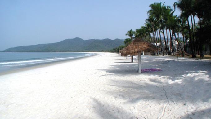 Toke beach in Sierra Leone.