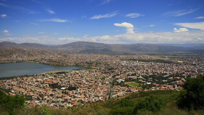 City of Cochamba, Bolivia.