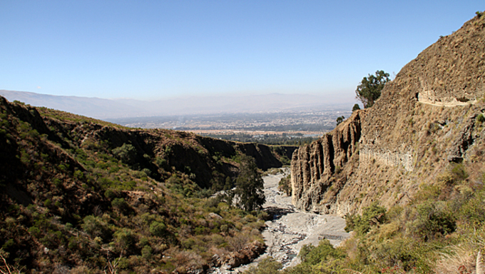 A hike trailing through Pairumani Park just outside of Cochabamba.