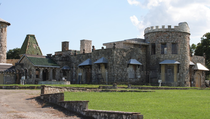 Castle Inverness at Lake Worth, Fort Worth, Texas.