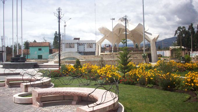 Small park located in Huancayo.