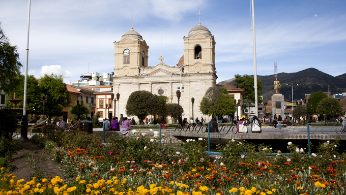 The Church Cathedral of Huancayo.