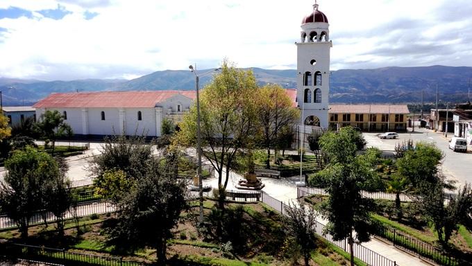 Church Building in Huancayo.