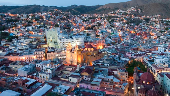 Vista de la Ciudad de Leon