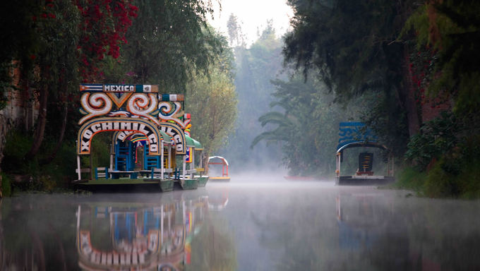 Góndolas de Xochimilco Ciudad de México