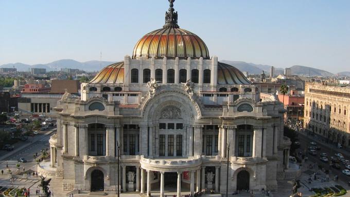 Edificio Bolsa de Valores México