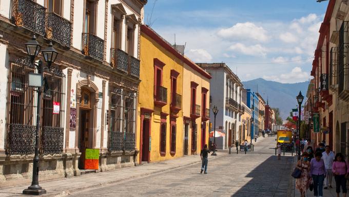 oaxaca old town street