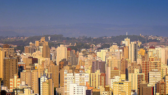 A view over Downtown Campinas.