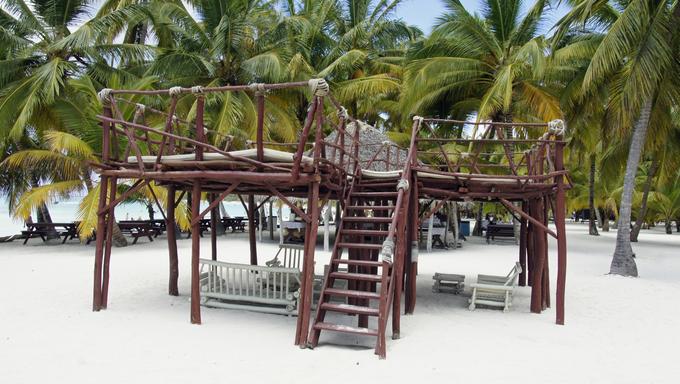 Saona island; a real Caribbean paradise.