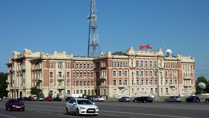 Здание управления Скверо-Кавказской железной дороги