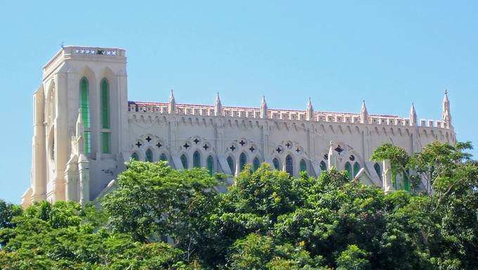 "Church of Our Lady of ""Bom Despacho"" is located in Cuiaba."
