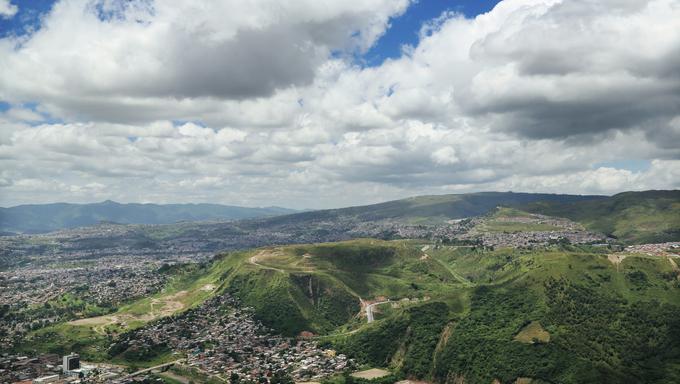 A grand view over Tegucigalpa