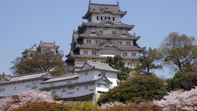 The Himeji Castle in Sendai.