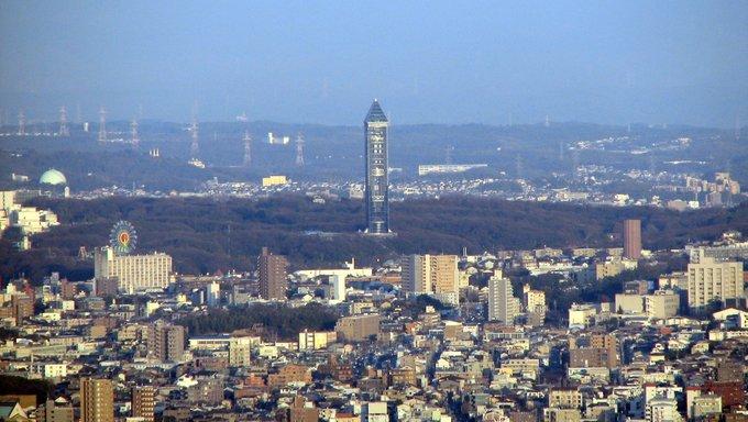 Higashiyama sky tower from Midland Square, Nagoya.