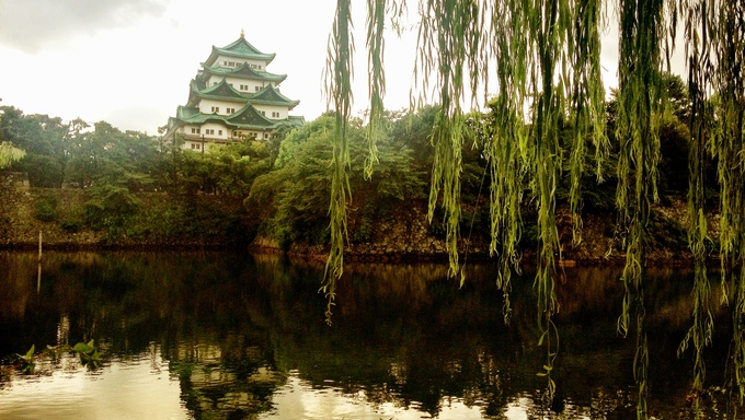 Another view of Nagoya Castle. It's considered one of Japan's most important castles and is a symbol of Nagoya.