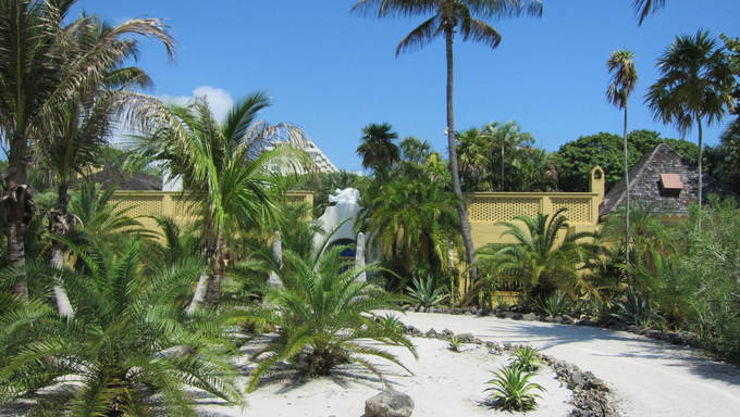 The Bonnet House Museum & Gardens in Ft. Lauderdale, Florida.