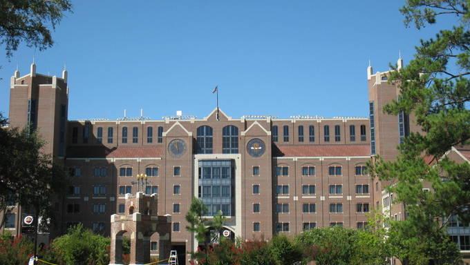 Doak Campbell Stadium At Florida State University.