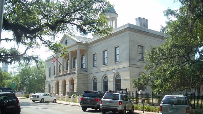 The United States Bankruptcy Courthouse in Tallahassee, Florida, USA.