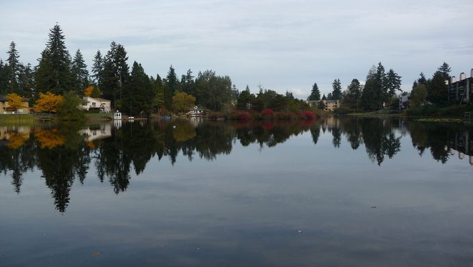 The Silver Lake in Everett.