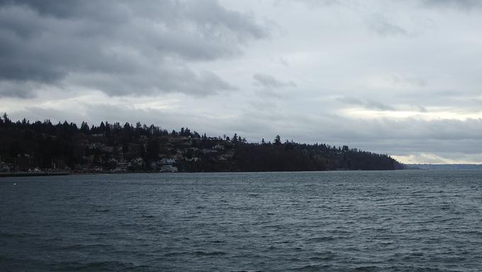 Federal Way Puget Sound Washington lake.