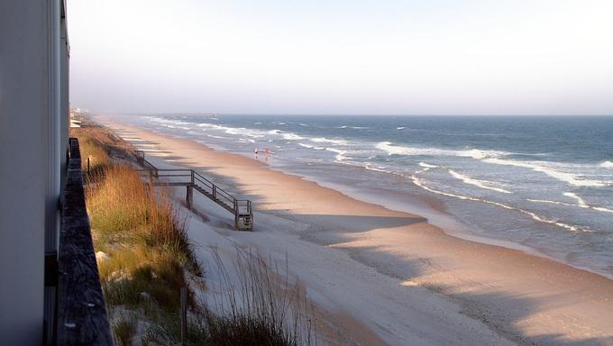 The shores of Holly Beach.