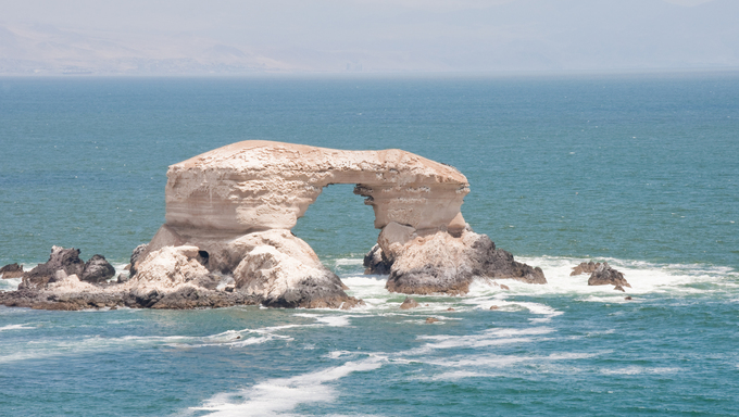 """La Portada"" Natural Monument at Antofagasta, Chile"