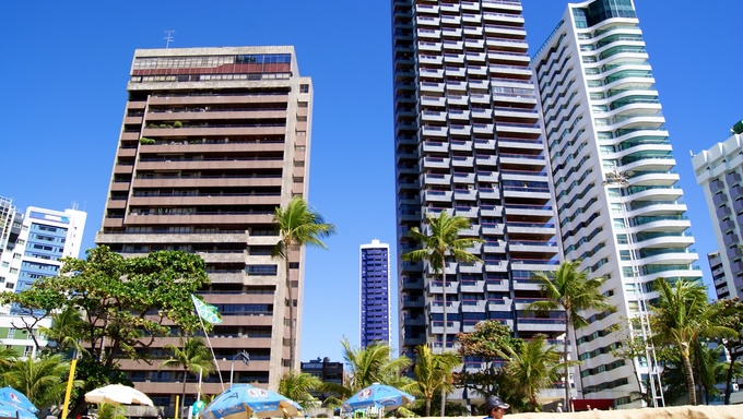 Pictures taken in Boa Viagem beach in Recife, PE, Brazil