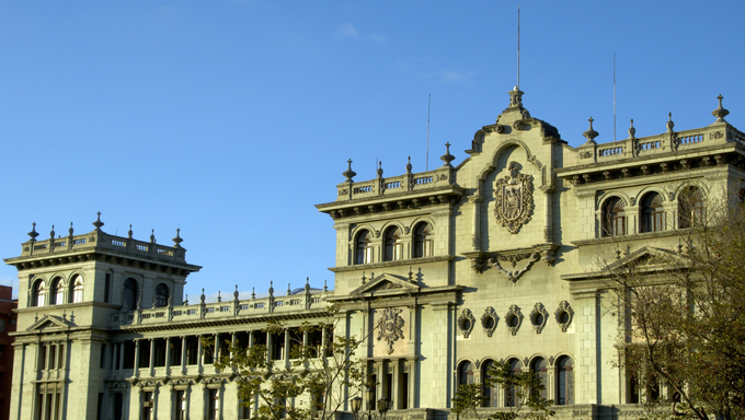 national presidential palace guatemala city central america