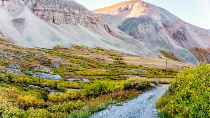 Mount Sherman Colorado 14er in the Colorado Rockies
