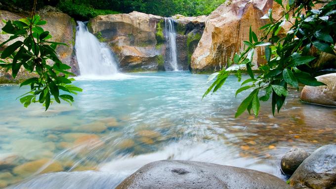 Waterfall at the Rincón de la Vieja National Park, Costa Rica