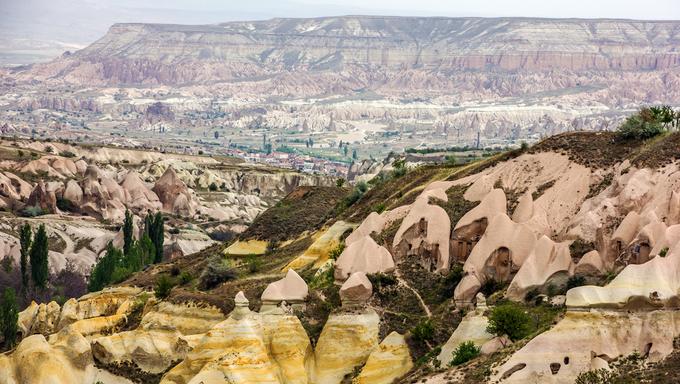 Mountain landscape, Cappadocia, Turkey