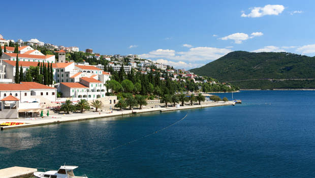 Adriatic coast landscape