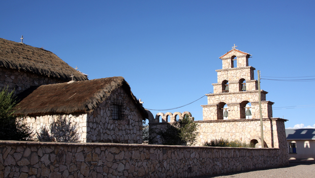 Church in the village near Uyuni, Bolivia