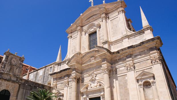 Croatia Dubrovnik Jesuit Church of St Ignatius