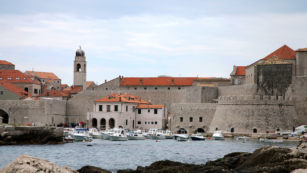 Croatia Dubrovnik Port