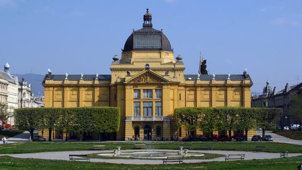 Croatia Zagreb Croatian National Theater 01