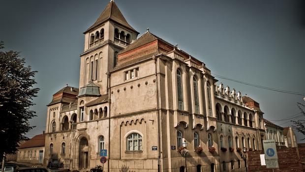 Croatian national hall building, Krizevci, Croatia, Prigorje county