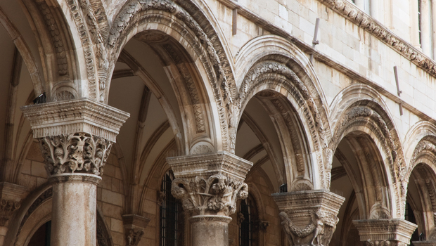 Dubrovnik, historical UNESCO site