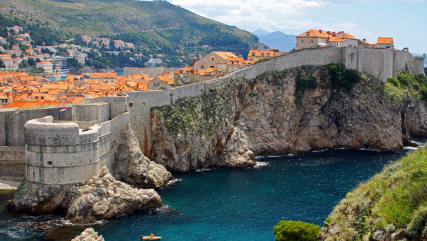 Walls of Dubrovnik old town, Croatia