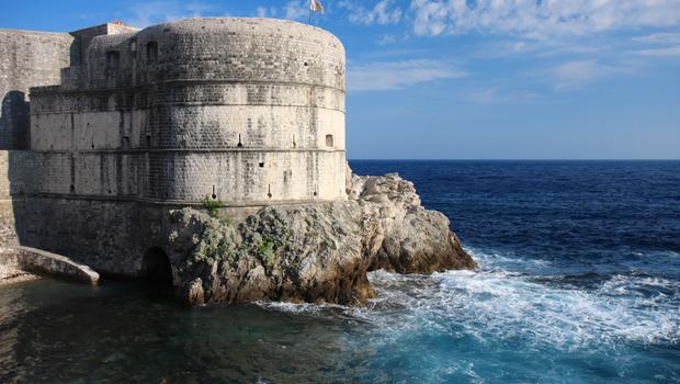 Fortress Bokar in Dubrovnik old town, Croatia
