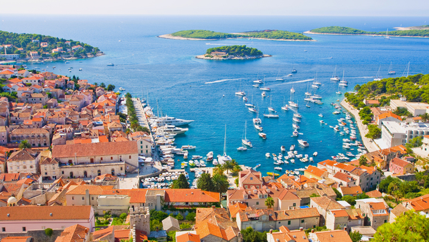 The island of Hvar is one of the Dalmatian islands and it has been famous since the antique because of its important strategic position.