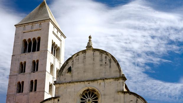 St. Mary church in Zadar, Croatia