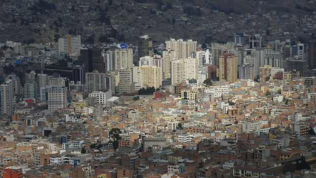 View of La Paz from Mirador
