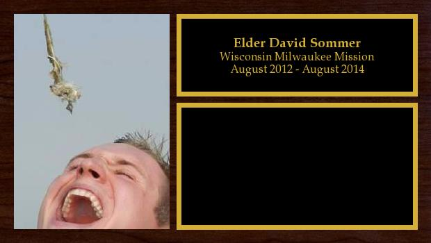August 2012 to August 2014<br/>Elder David Sommer