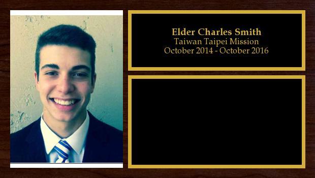 October 2014 to October 2016<br/>Elder Charles Smith