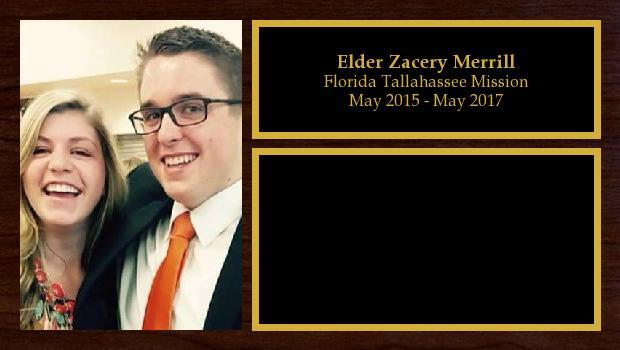 May 2015 to May 2017<br/>Elder Zacery Merrill