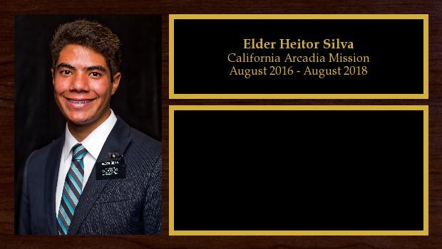 August 2016 to August 2018<br/>Elder Heitor Silva