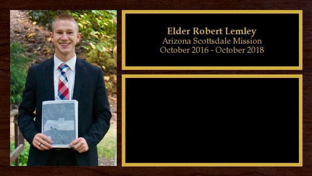 October 2016 to October 2018<br/>Elder Robert Lemley
